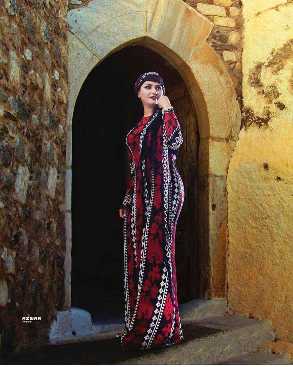 مدل کوا کردی مدل لباس مجلسی کردی زنانه | الگو